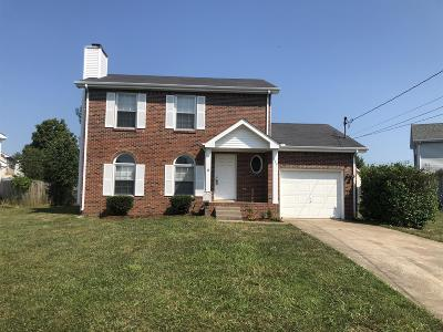 Clarksville Single Family Home For Sale: 809 Keystone Dr