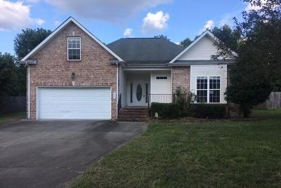 Clarksville TN Single Family Home For Sale: $179,000