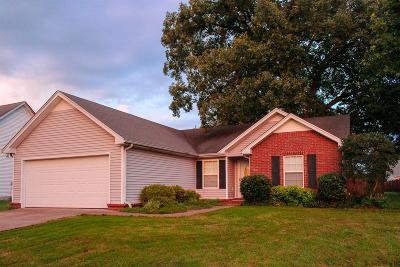 Murfreesboro Single Family Home Under Contract - Showing: 1251 Ballater Dr