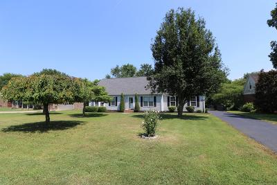Smyrna Single Family Home For Sale: 209 Peebles Dr