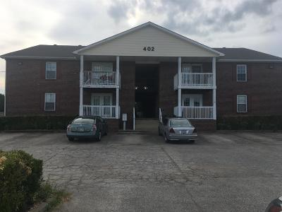 Clarksville Condo/Townhouse Under Contract - Not Showing: 402 C Jack Miller Blvd