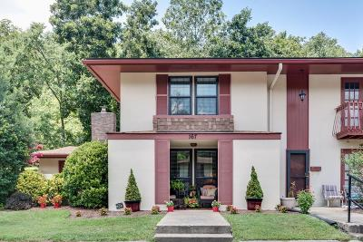 Nashville Condo/Townhouse For Sale: 214 Old Hickory Blvd., #167 #167