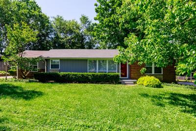 Nashville Single Family Home For Sale: 485 Hogan Rd