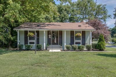 Franklin Single Family Home Under Contract - Showing: 600 Edgewood