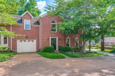 Nashville Condo/Townhouse For Sale: 626 Estes Rd
