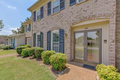 Nashville Condo/Townhouse For Sale: 1015 Todd Preis Dr