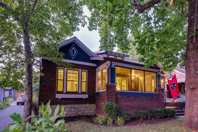 Nashville Single Family Home For Sale: 1503 Stratton Ave