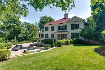 Davidson County Single Family Home For Sale: 1054 Overton Lea Rd
