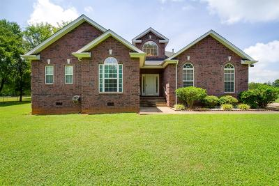 Rutherford County Single Family Home For Sale: 7460 Burleson Ln