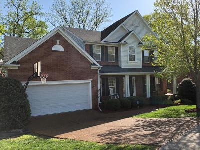 Franklin Single Family Home For Sale: 1402 Marrimans Ct