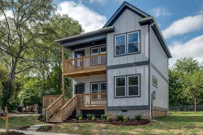 Nashville Single Family Home For Sale: 1015 24th Ave N