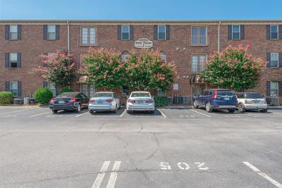 Nashville Condo/Townhouse For Sale: 1808 State St Apt 306 #306