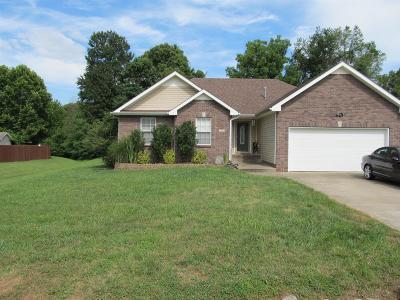 Clarksville Single Family Home For Sale: 2255 Kim Dr