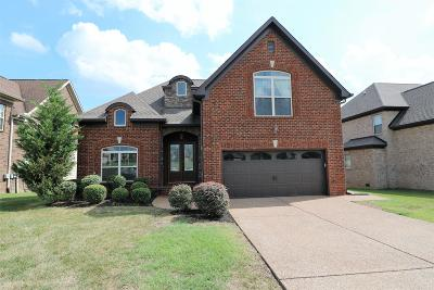 Mount Juliet Single Family Home For Sale: 3108 Hidden Creek Dr