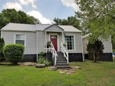 Davidson County Single Family Home Under Contract - Not Showing: 451 Lanier Drive