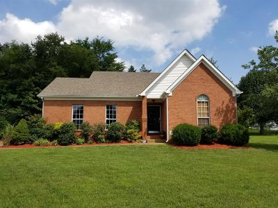 Wilson County Single Family Home Under Contract - Not Showing: 900 Bluebird Court
