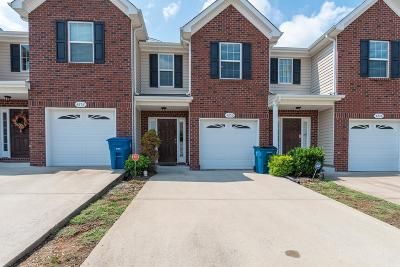Murfreesboro Condo/Townhouse For Sale: 4250 Aurora Cir