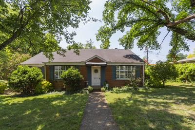 Nashville Single Family Home For Sale: 5551 Kendall Dr