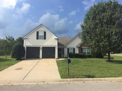 Mount Juliet Single Family Home For Sale: 1700 Kendall Cove Ln