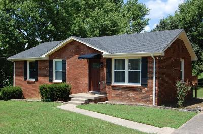 Clarksville Single Family Home Under Contract - Showing: 325 Harold Dr
