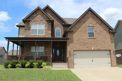 Clarksville Single Family Home For Sale: 3464 Sikorsky Ln