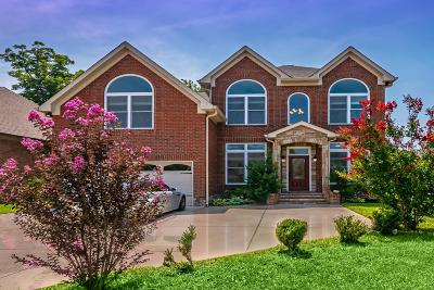 Nashville Single Family Home For Sale: 2824 Brentwood Knoll Ct
