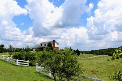 Christian County, Ky, Todd County, Ky, Montgomery County Single Family Home Under Contract - Showing: 6096 Woods Valley Rd