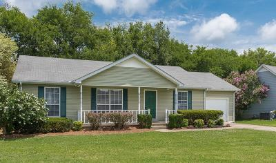 Rutherford County Single Family Home Under Contract - Not Showing: 1214 Falling Tree Ct