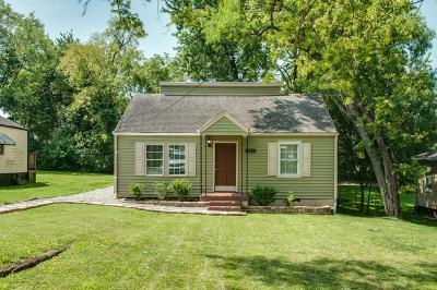 Nashville Single Family Home For Sale: 531 Elgin St
