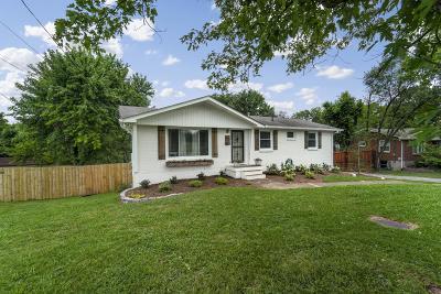 Nashville Single Family Home For Sale: 517 Brewer Dr