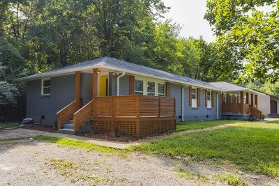 Nashville Single Family Home For Sale: 3801 A Moss Rose Dr