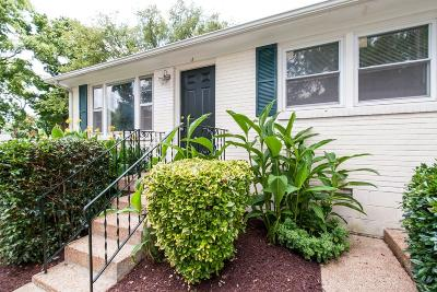 Nashville Single Family Home For Sale: 850 A Kirkwood Ave