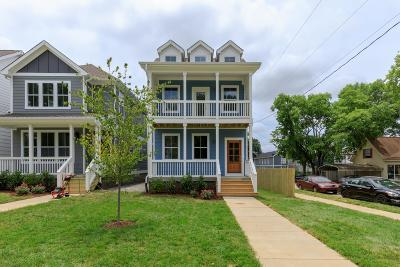 Nashville Single Family Home For Sale: 5605 A Tennessee Ave