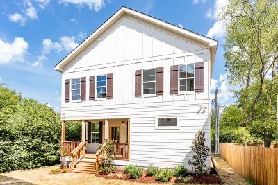 Nashville Single Family Home For Sale: 638 B Annex Ave