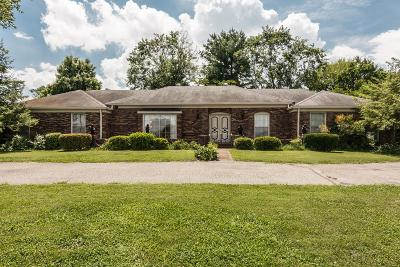 Goodlettsville Single Family Home Under Contract - Not Showing: 296 Highland Heights Dr