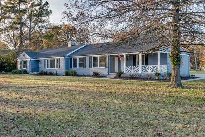 Nashville Single Family Home For Sale: 6300 Jocelyn Hollow Rd