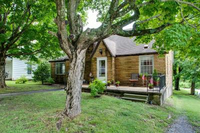Dickson Single Family Home Under Contract - Not Showing: 413 Center Ave