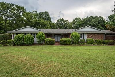 Franklin Single Family Home For Sale: 505 Ellington Dr
