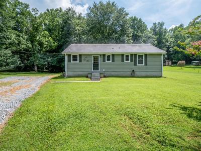 Chapmansboro Single Family Home For Sale: 3111 Sweethome Rd