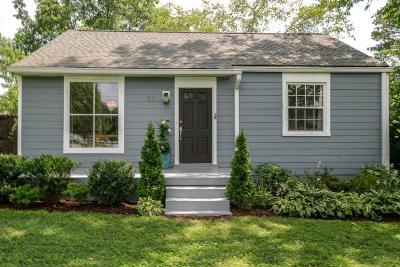Nashville Single Family Home For Sale: 83 Peachtree St