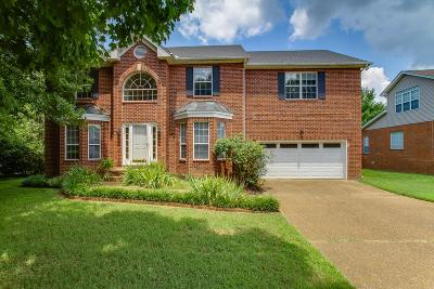 Davidson County Single Family Home For Sale: 7820 River Fork Dr