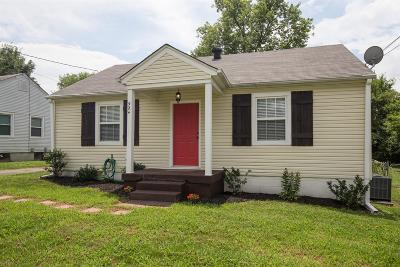 Nashville Single Family Home For Sale: 924 Chickasaw Ave