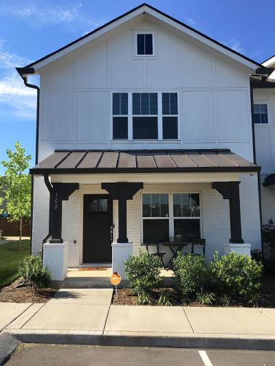 Davidson County Condo/Townhouse For Sale: 100 West Mill Drive #100 #100