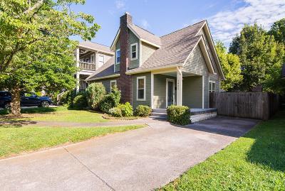Nashville Single Family Home For Sale: 1421 Franklin Ave