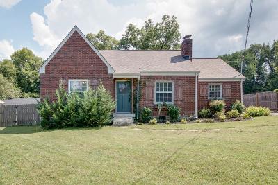 Nashville Single Family Home For Sale: 2534 Stinson Rd