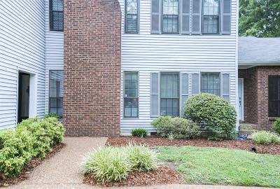 Nashville Condo/Townhouse For Sale: 107 Westerly Dr