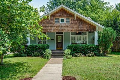 Nashville Single Family Home For Sale: 1422 McKennie Ave