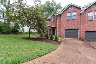 Davidson County Condo/Townhouse For Sale: 3805 A Abbott Martin Rd #A