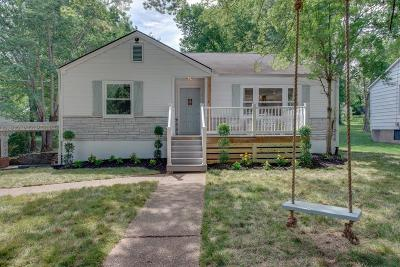 Davidson County Single Family Home For Sale: 2831 Brunswick Drive