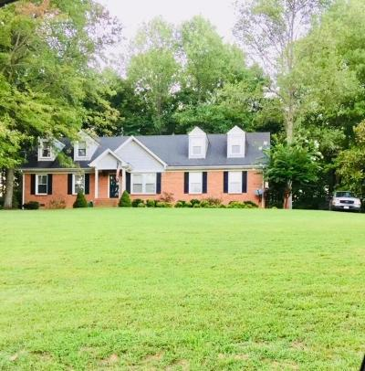 Sumner County Single Family Home For Sale: 1137 Stillhouse Rd